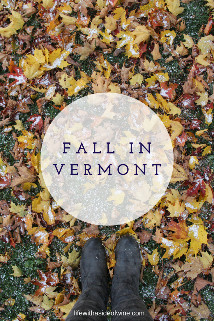 A Weekend in Vermont, Fall