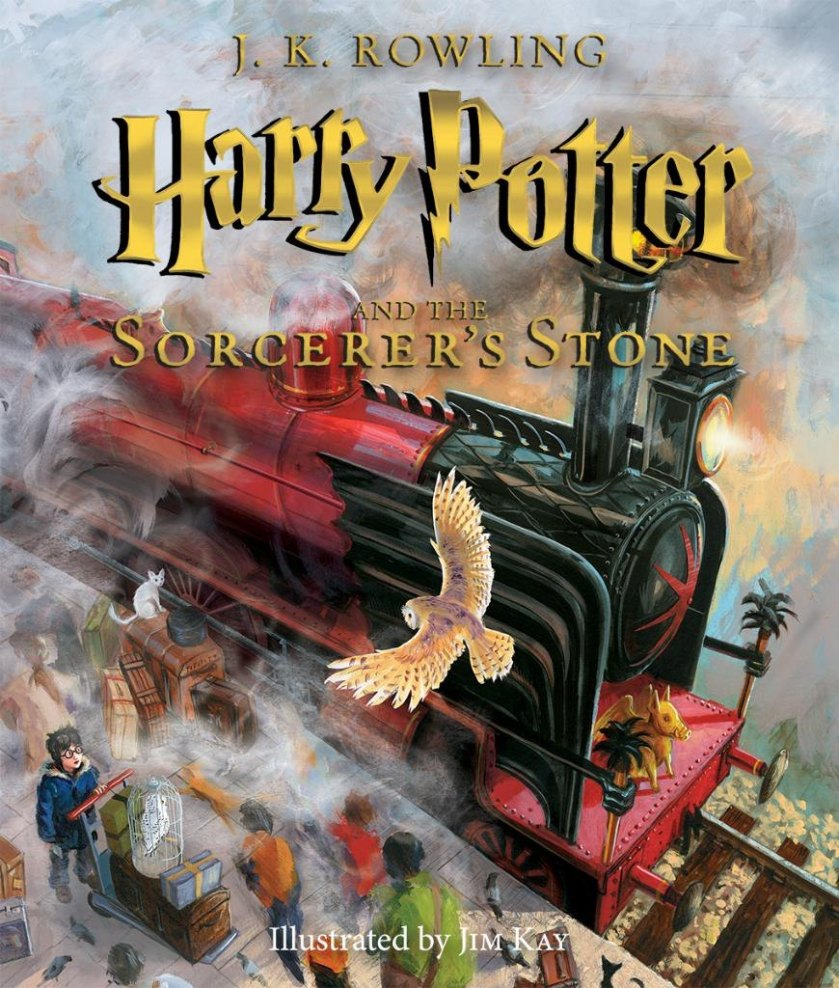 harry potter illustrated book